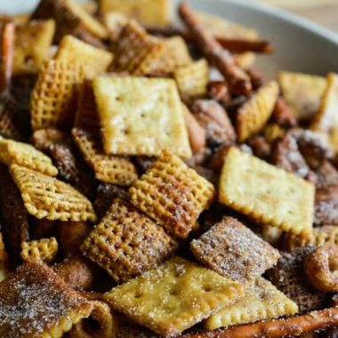 Cinnamon Sugar Sweet Chex Mix
