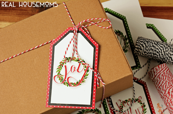 These PRINTABLE HOLIDAYGIFT TAGS are perfect for all of your giving this season! Available in four designs!