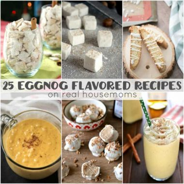25 Eggnog Flavored Recipes