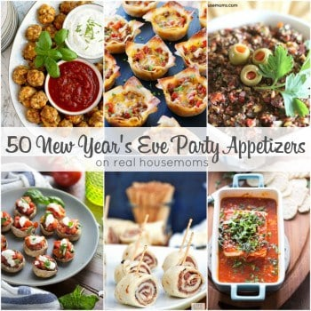 Get your soirée started with our 50 NEW YEAR'S EVE PARTY APPETIZERS! We have everything from vegetarian bites to dips and snacks to keep your party crowd happy and well fed!