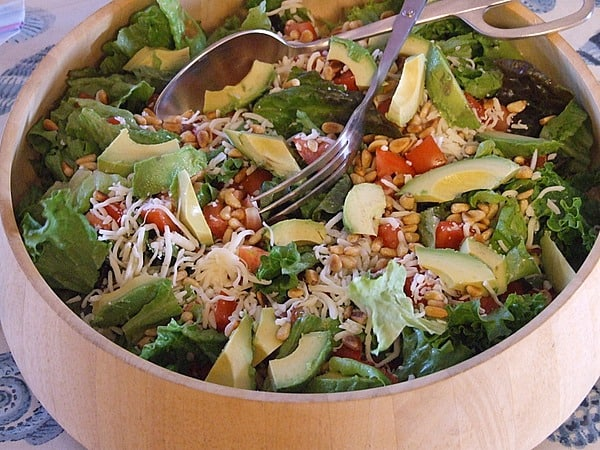 Avocado Pine Nut Salad - Recipe Girl