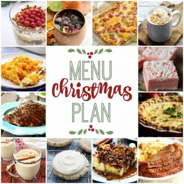 We've put together a WEEKLY MEAL PLAN to make your Christmas a bit easier! We've got breakfast, dinner, and dessert planned so you don't have to worry!