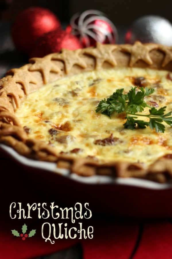 Christmas Quiche - Family Favorite Recipes