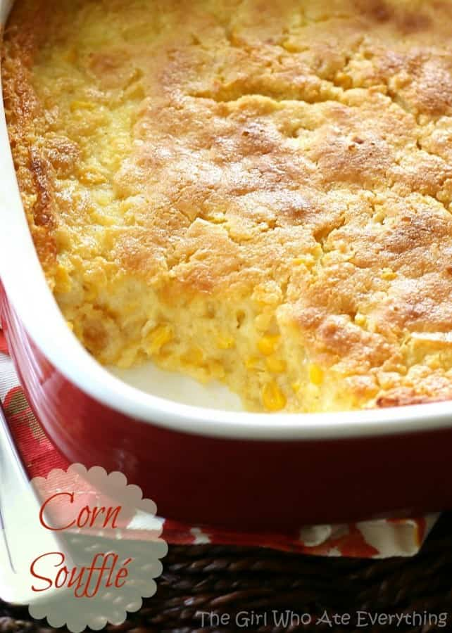 Corn Souffle - The Girl Who Ate Everything