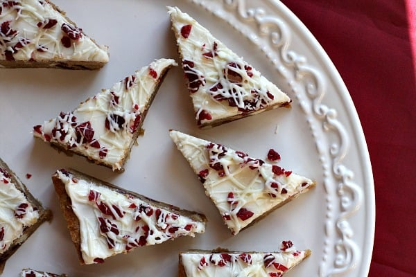 Cranberry Bliss Bars - Recipes Girl