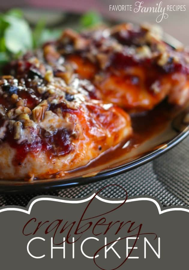 Cranberry Chicken - Favorite Family Recipes
