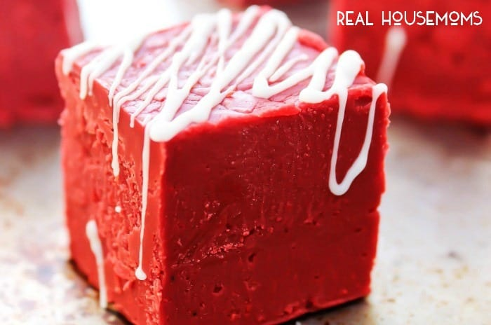 "EASY RED VELVET FUDGE a holiday must have for your family and friends, but trust me, make a batch just for yourself and sing ""Merry Christmas to me"" while stuffing your face!"
