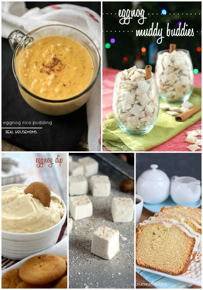 One of my favorite holiday drinks is eggnog & with Christmas just around the corner it's high time I got an eggnog fix from these 25 EGGNOG FLAVORED RECIPES!