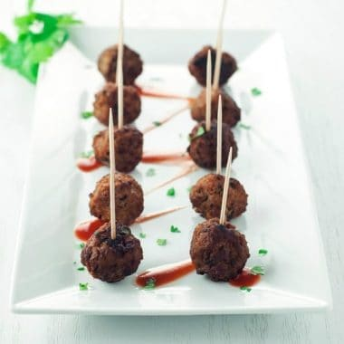 Mini Turkey Meatballs