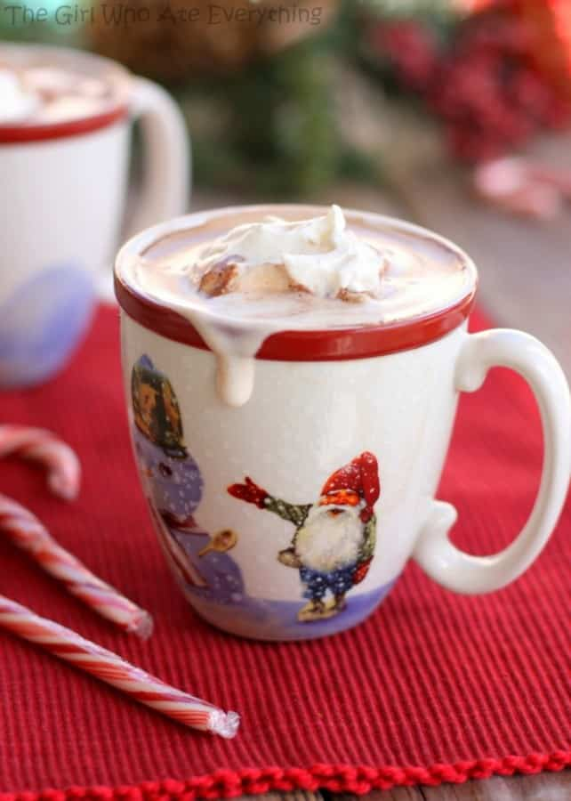 Polar Express Hot Chocolate - The Girl Who Ate Everything