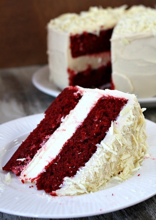 Red Velvet Cheesecake Cake - Recipe Girl