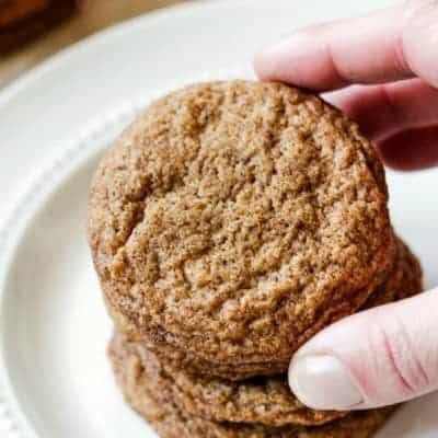 Perfect Soft and Chewy Gingersnap Cookies