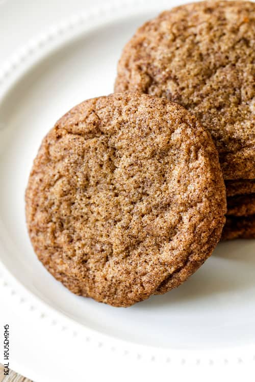 These mega SOFT AND CHEWEY GINGERSNAP COOKIES infused with deep, rich molasses, ginger, cinnamon and cloves is the only gingersnap recipe you will ever need!