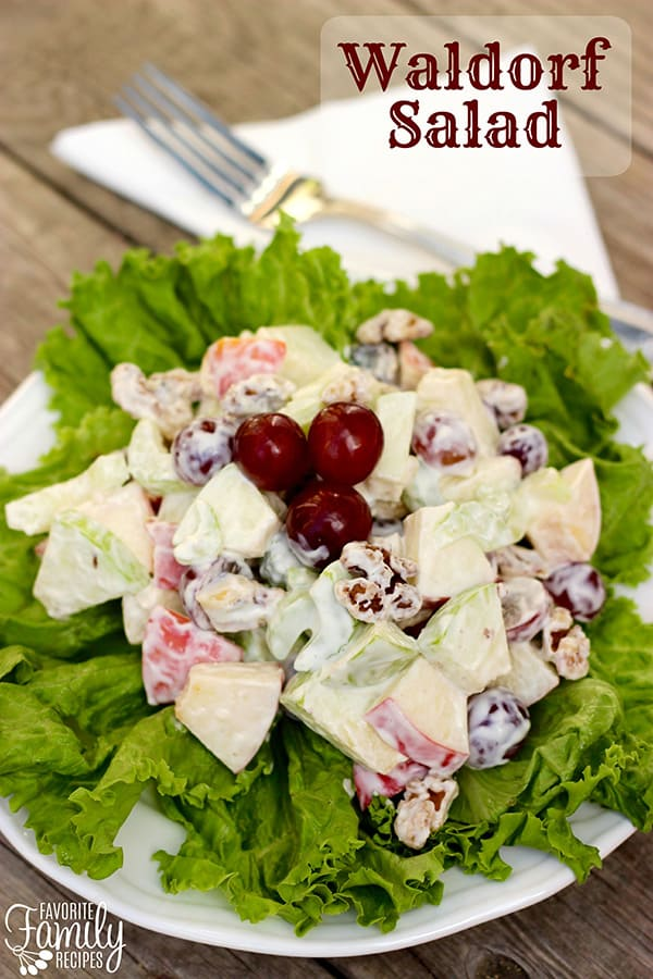 Waldorf Salad - Favorite Family Recipes