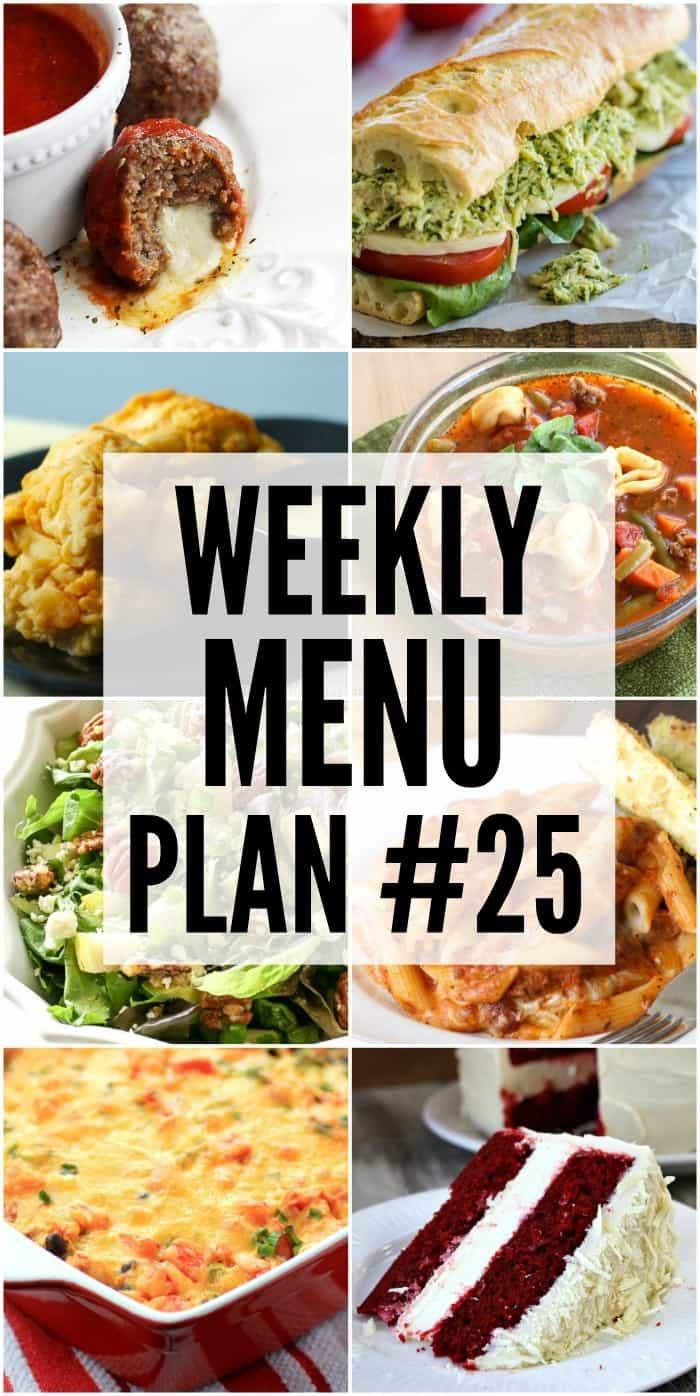 我们制定了每周的用餐计划,使您的一周变得更轻松!我们已经计划好晚餐,所以您不必担心!