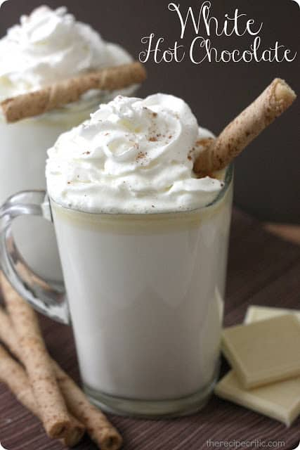 White Hot Chocolate - The Recipe Critic