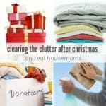 Clearing the Clutter After Christmas