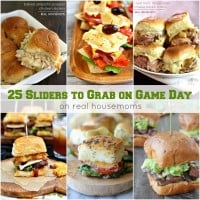 Round up your friends and get ready to yell at the TV! We're bringing you 25 SLIDERS TO GRAB ON GAME DAY that'll make your crowd go wild