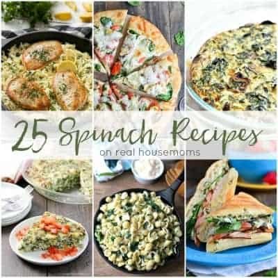 25 Spinach Recipes