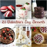 Get ready to indulge in these 25 VALENTINE'S DAY RECIPES! These recipes are perfect to share with the special someone and will give you a sweet end to the night!