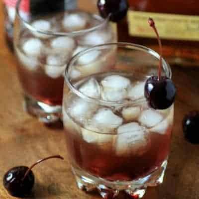 Bourbon Cherry Smash