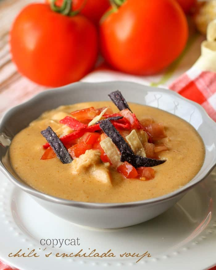 Chili's Copycat Enchilada Soup - Lil' Luna