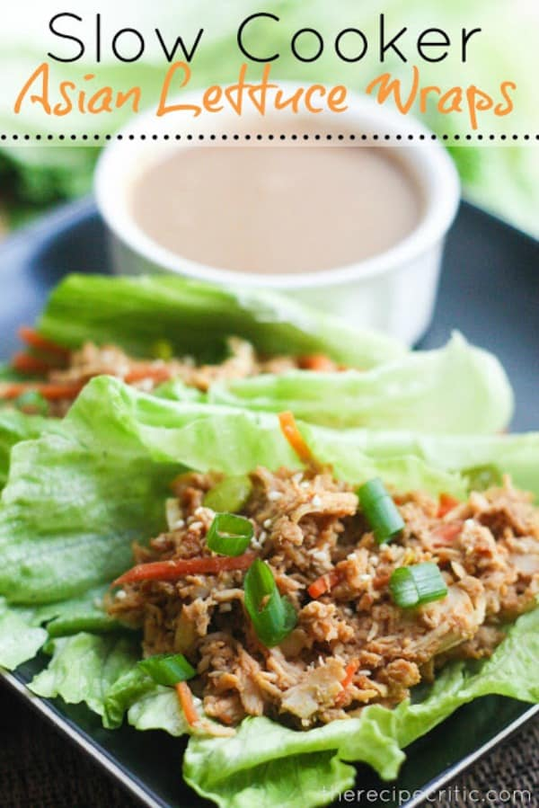 Slow Cooker Asian Lettuce Wraps - The Recipe Critic