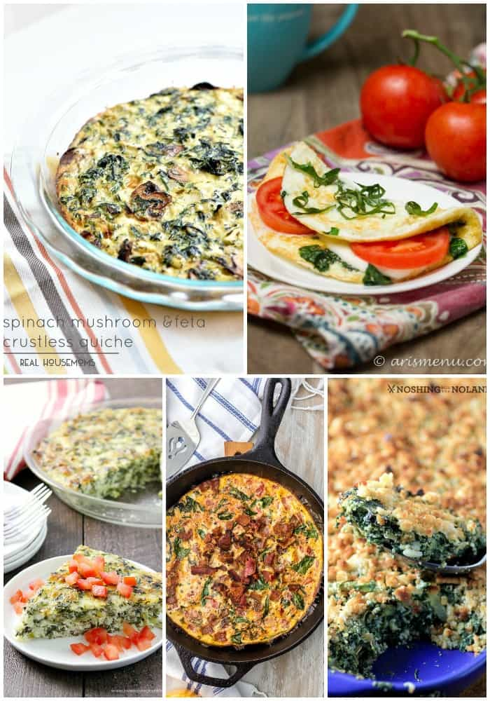 25 Spinach Recipes | Real Housemoms