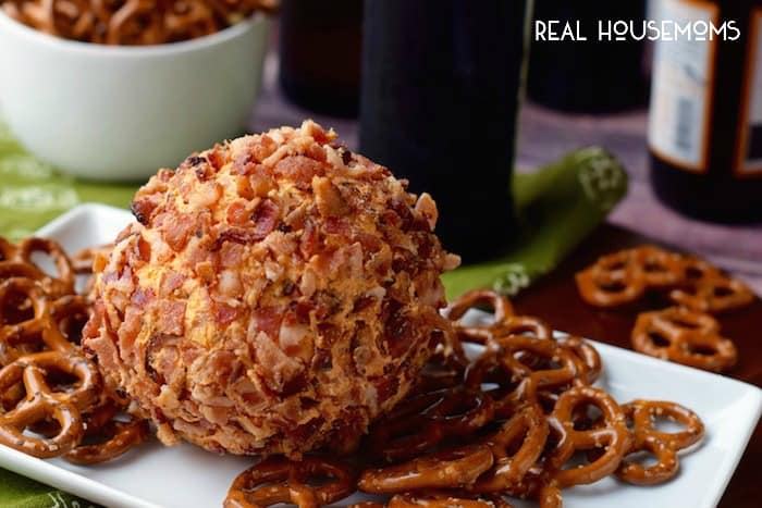 Our BUFFALO BACON CHEESEBALL is so easy to make and packed with amazing flavor! It's the perfect game day appetizer!