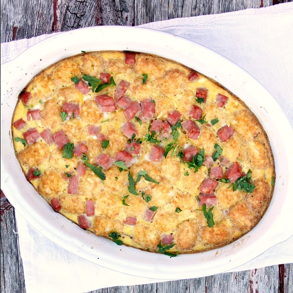 Brunch has never tasted so good, this Breakfast Ham Casserole is devoured and everyone always asks for seconds.