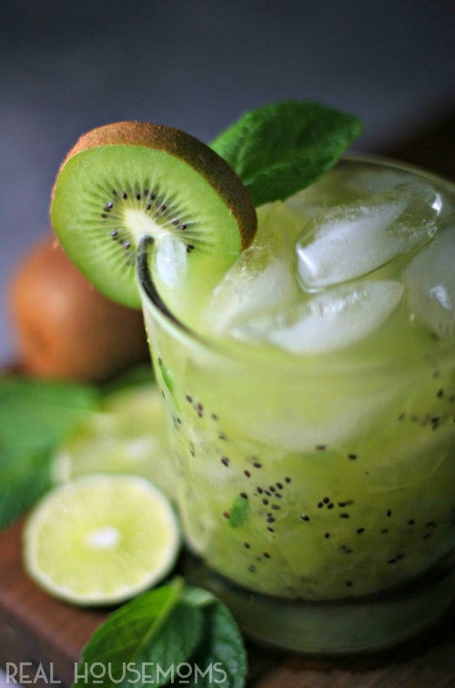Trade in the green beer this year for a KIWI CRUSHER, a light and refreshing St. Patrick's Day cocktail!