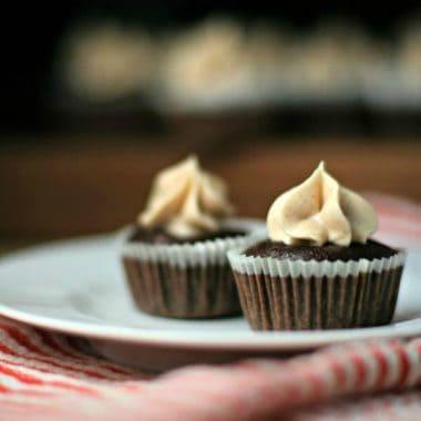 Heart Beet Cupcakes
