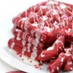 RED VELVET WAFFLES are the perfect way to making any morning a little more special!