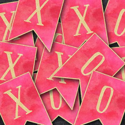 Free Printable Valentine's Banner