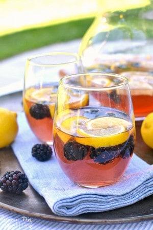Blackberry Lemon Sangria