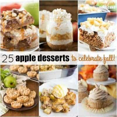 25 Apple Desserts to Celebrate Fall!