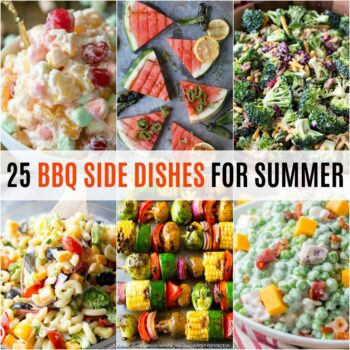 Fire up the grill and invite your friends over! These 25 BBQ Side Dishes for Summer will prove that a side dish can be just as good as the main course!