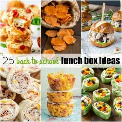 25 Back to School Lunch Box Ideas