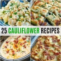 Cauliflower is one of my favorite vegetables. It's so incredibly versatile. Get ready to take your love of cauliflower to a new level with these 25 Cauliflower Recipes!