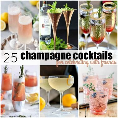 25 Champagne Cocktails for Celebrating with Friends
