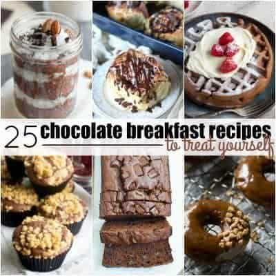 25 Chocolate Breakfast Recipes to Treat Yourself