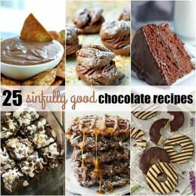 25 Sinfully Good Chocolate Recipes