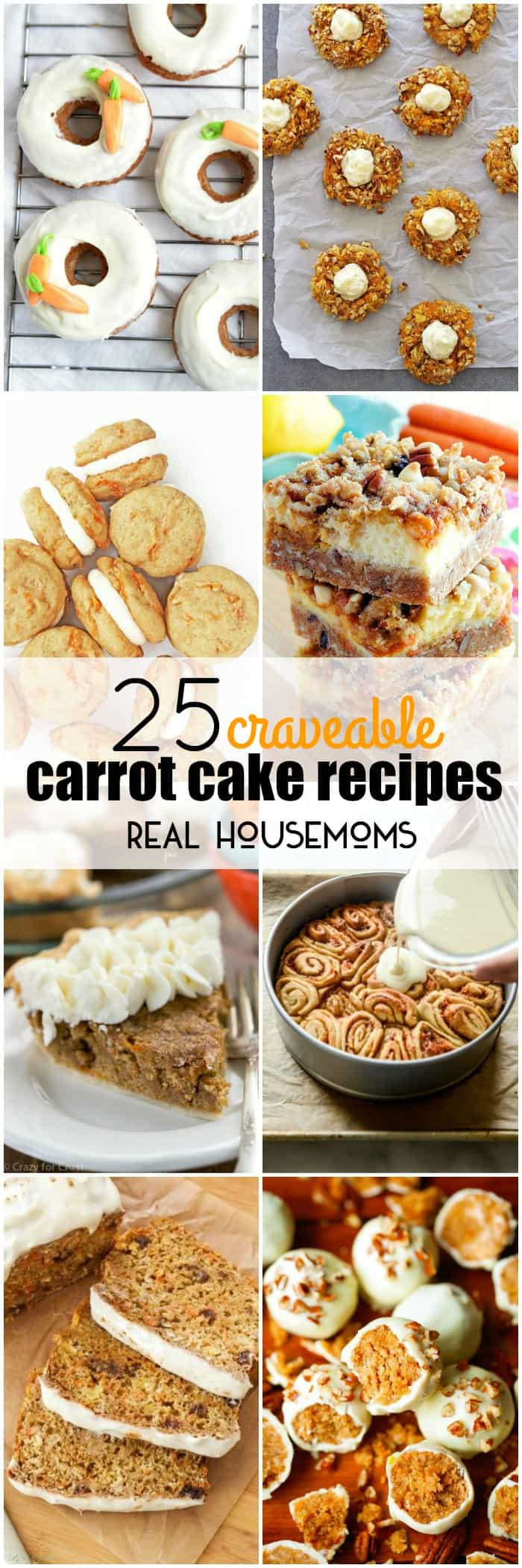 These 25 CRAVEABLE CARROT CAKE RECIPES are so good even the Easter Bunny can't resist them!ERO