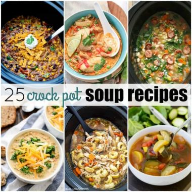 25 Crock Pot Soup Recipes
