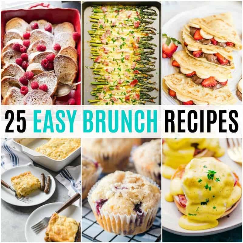 25 Easy Brunch Recipes Real Housemoms