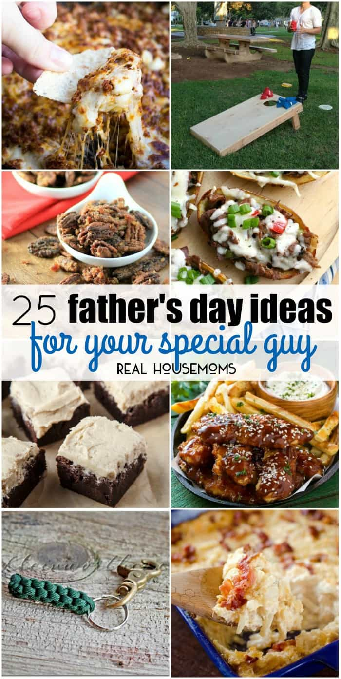 Father's Day ideas vertical collage
