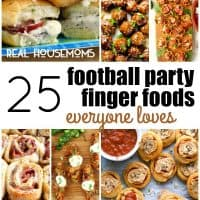 We love hanging out with friends to watch our favorite teams play, and with these 25 FOOTBALL PARTY FINGER FOODS EVERYONE LOVES, your game day party is sure to be a hit!