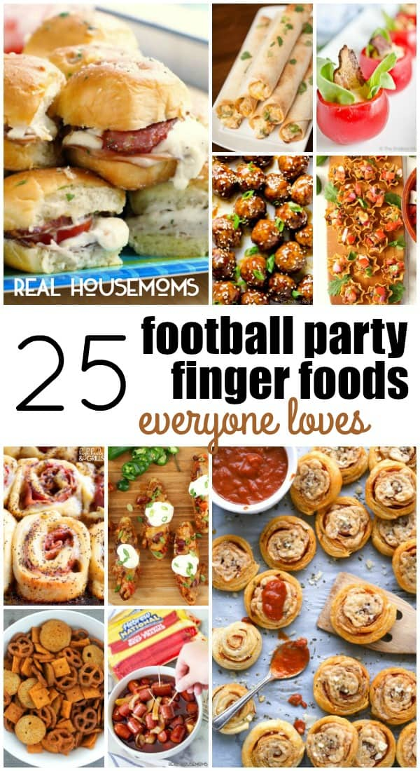 Football is practically a religion in my house. I love spending Sundays with friends and family eating yummy finger food appetizers while we all yell at the TV. It's a great way to spend the day! With the big game just around the corner, I'm already planning this year's spread. I've got my.