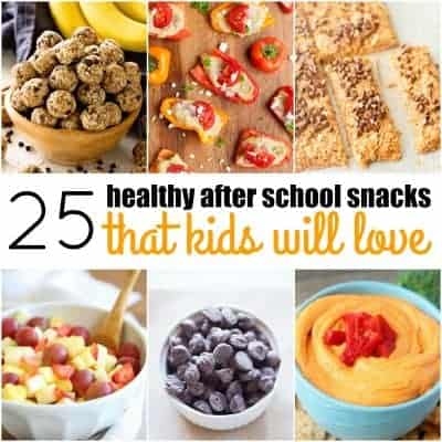 25 Healthy After School Snacks That Kids Will Love