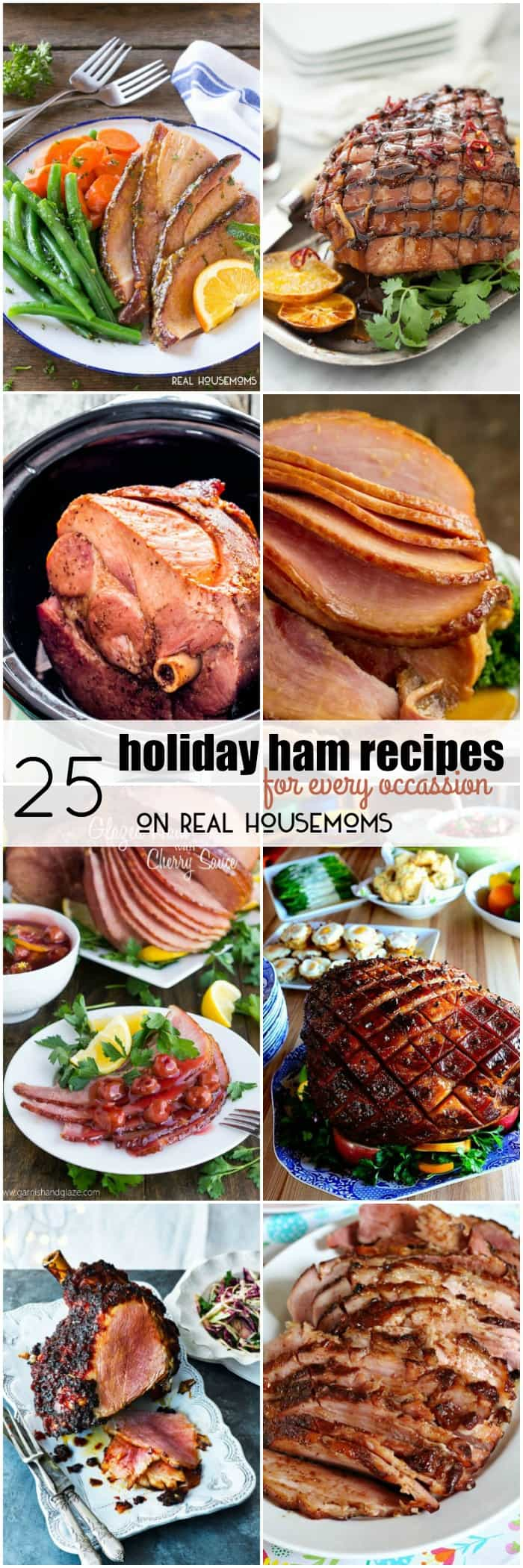 Gather your family around the table and get ready to dig into these 25 Holiday Ham Recipes for Every Occasion! From Easter to Christmas and everything in between, these hams are sure to please!